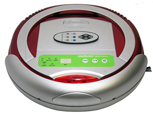 The Infinuvo CleanMate QQ-2 BASIC Robotic Vacuum Cleaner