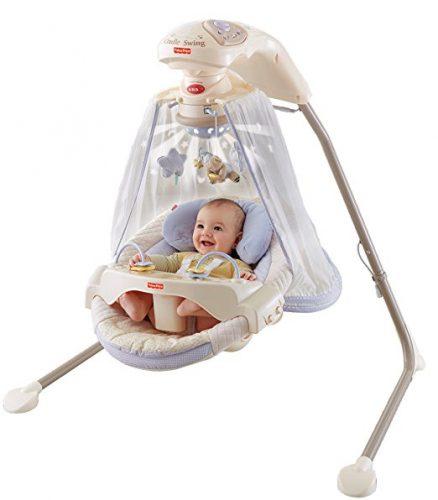 The Papasan Cradle Swing by Fisher-Price-10 Best Baby Swings