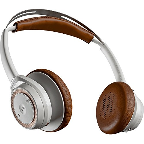 Plantronics Backbeat Sense Wireless Bluetooth Headphones with Mic – White