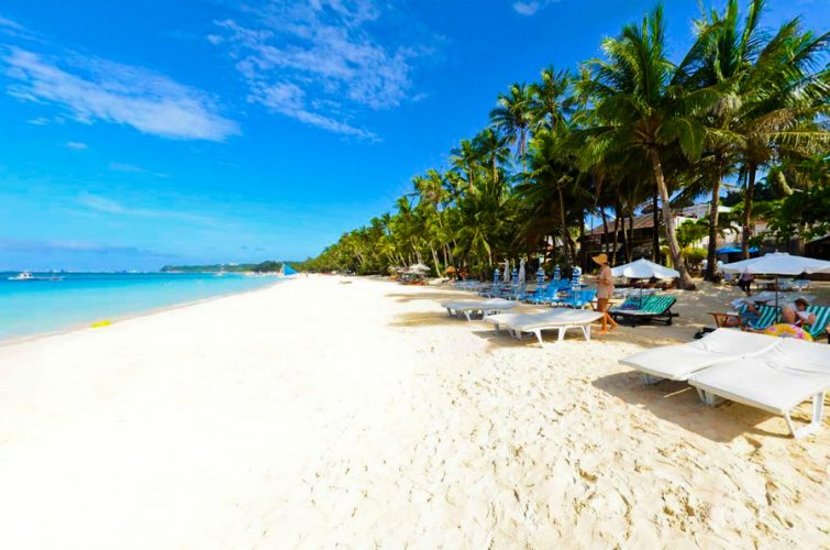 Philippines Found South Of Manila And Northwest The Panay Island Here You Will Find White Sand Beaches One Best Relaxing Places To Visit