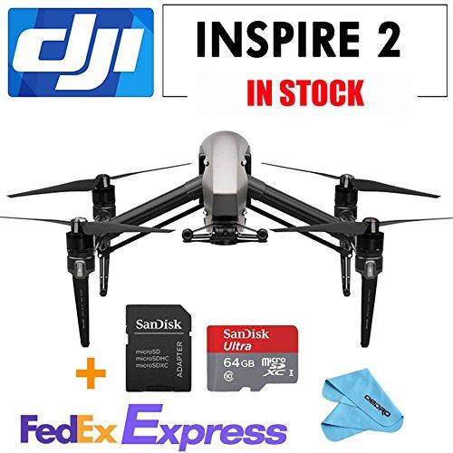 DJI Inspire 2- drone cameras