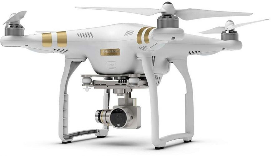 DJI Phantom 3 (Professional)- drone cameras