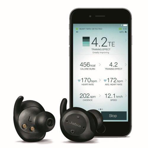 Jabra Elite Sport True-Wireless Bluetooth Stereo Earbuds (U.S. Retail Packaging)- wireless earbuds