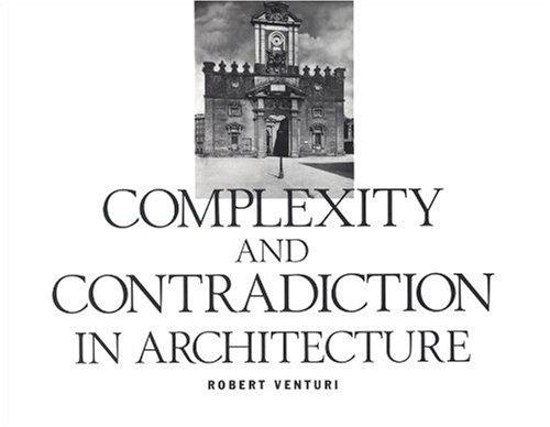 Robert Venturi: Complexity and Contradiction in Architecture- Architecture Books