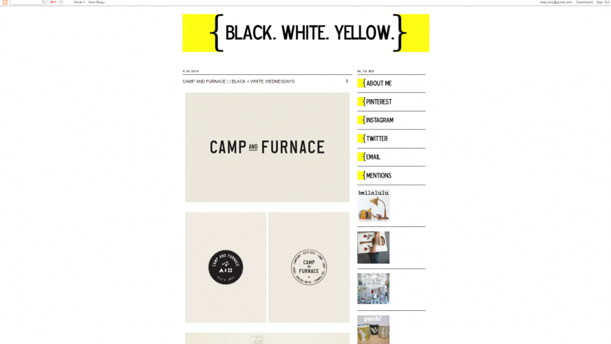 BLACK.WHITE.YELLOW – Be Inspired- Interior Design Blogs