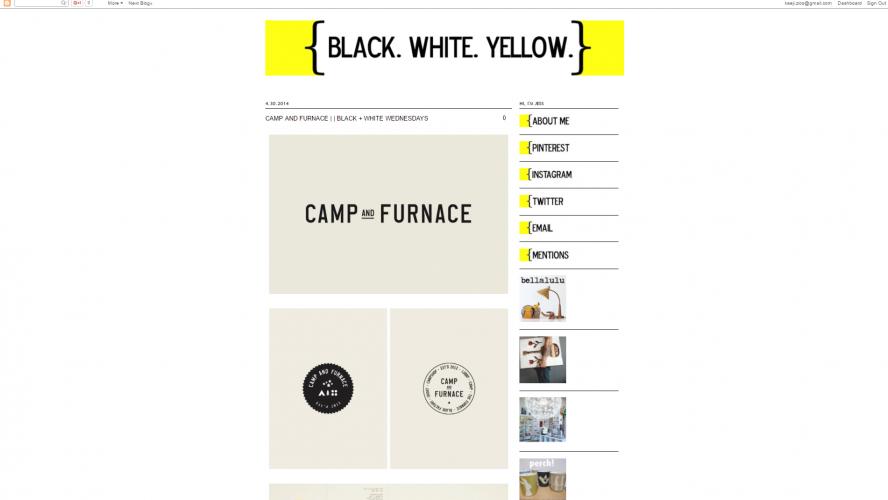 BLACK.WHITE.YELLOW – Be Inspired- Interior Design Blogs