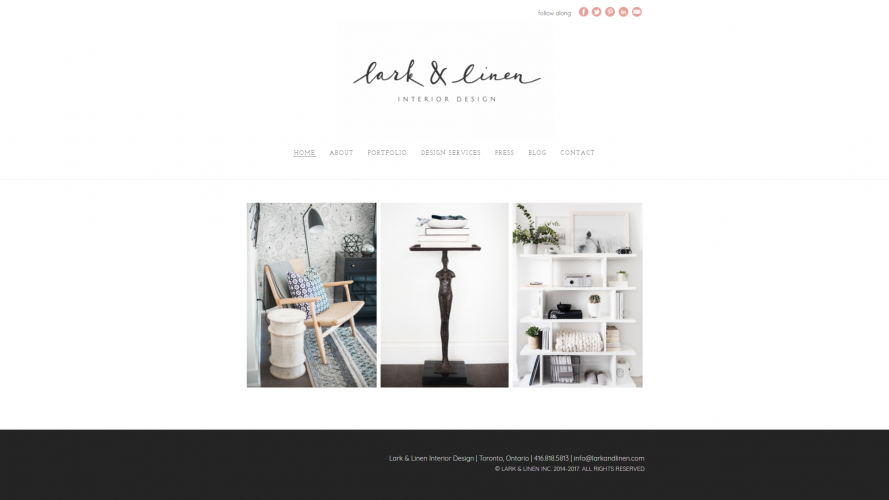 Lark & Linen – Make your Home Livable- Interior Design Blogs
