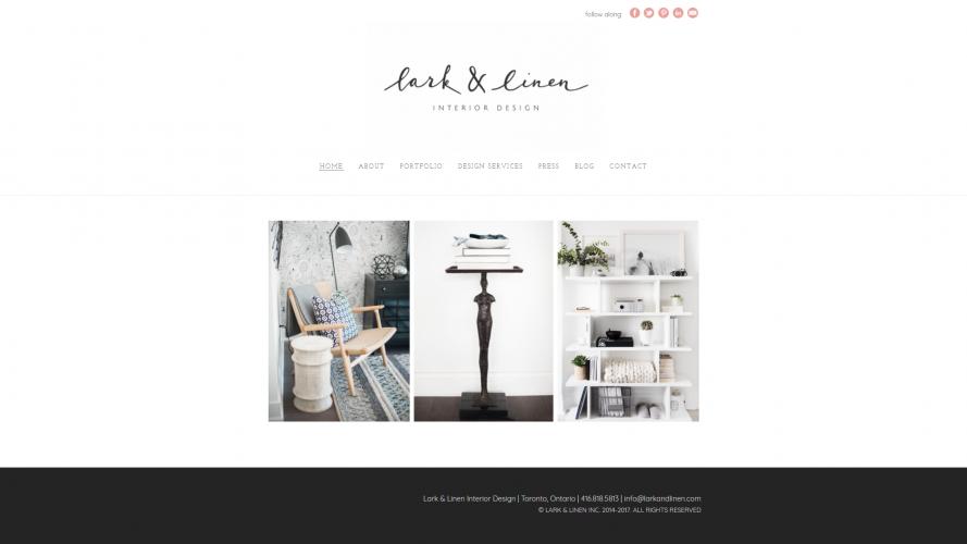Lark & Linen – Make your Home Livable- Interior Design Blogs