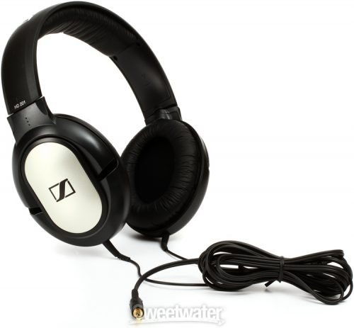 sennheiser-hd201-over-ear Bass Headphones