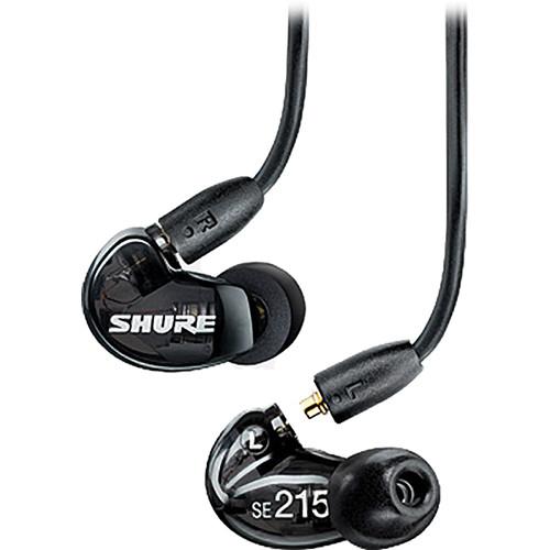 Shure SE215-K Earphones - Cheap Earbuds