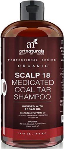 The ArtNaturals Scalp 18 Coal and Tar Shampoo- hair growth shampoos