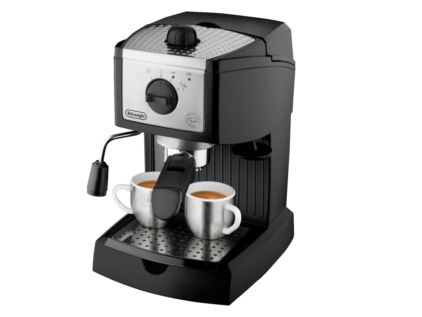 The DeLonghi EC155 15-Bar-Pump Espresso and Cappuccino Maker
