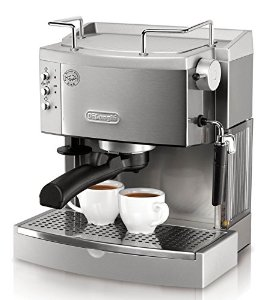 The DeLonghi EC702 15-Bar-Pump Espresso Maker