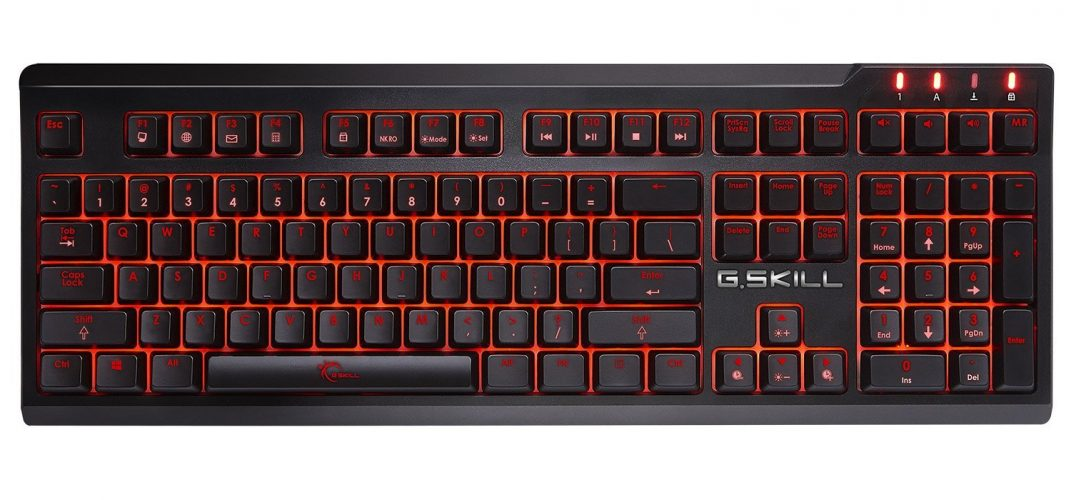 The G.Skill KM570 Ripjaws-gaming keyboard