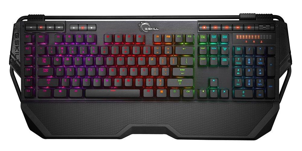 The G.Skill KM780 RGB Ripjaws-gaming keyboard