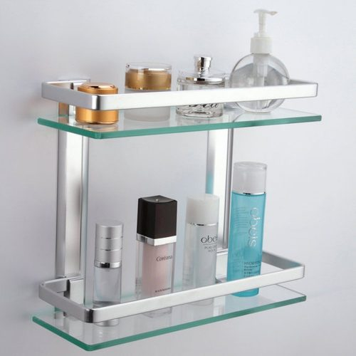 Popular Details About Telescopic Bathroom Shelf Bath Corner Shower Rack Caddy
