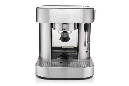 The KRUPS XP601050 Manual Pump Espresso Machine