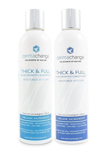 The Organic Hair Growth Shampoo and Conditioner Set- best