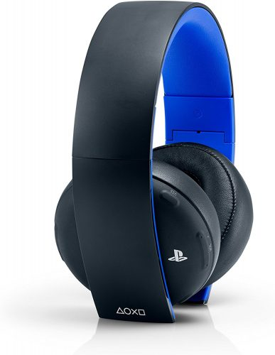 The PlayStation Gold Stereo Wireless Headset-best wireless gaming headsets