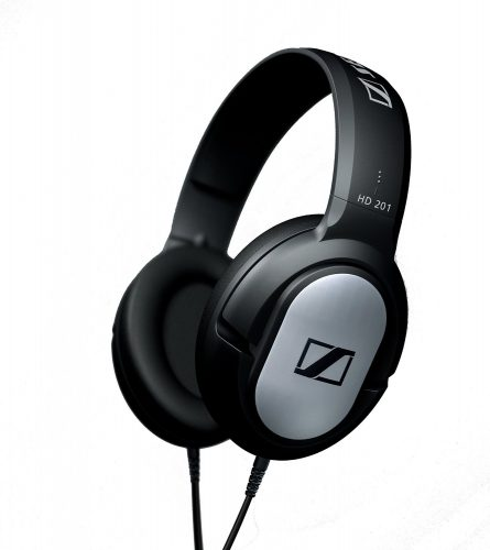 The Sennheiser HD201 Over-Ear Headphones- best over-ear headphones
