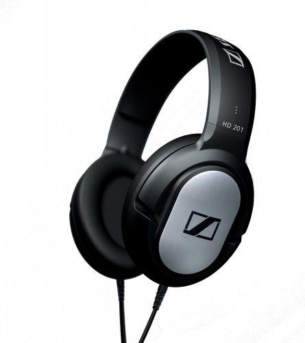 The Sennheiser HD201 Over-Ear Headphones- best over-ear headphones