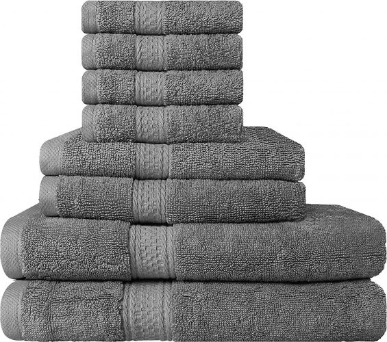 The Utopia 8-piece Towel Set- bath towels