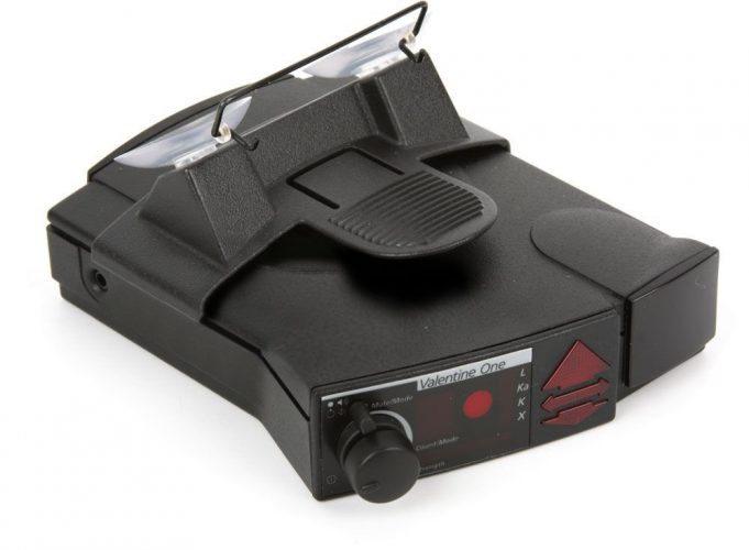 The Valentine One Radar Detector- car radar detectors