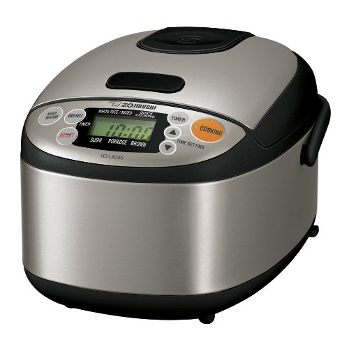 The Zojirushi NS-LAC05XT - rice cooker