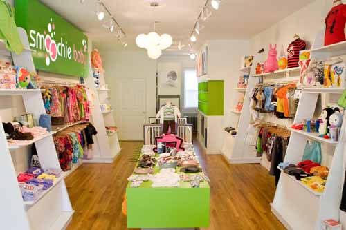 Setting up your own baby clothing store needs some element of