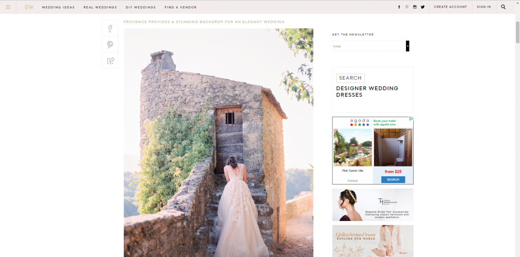 Top 20 best wedding blogs you should read emily newman who at that moment went through her own wedding at the time launched the blog junglespirit Image collections