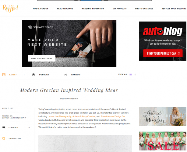 For Down To Earth Wedding Information Try Ruffled With Them You Will Find Inspirational Content Based On Others Weddings