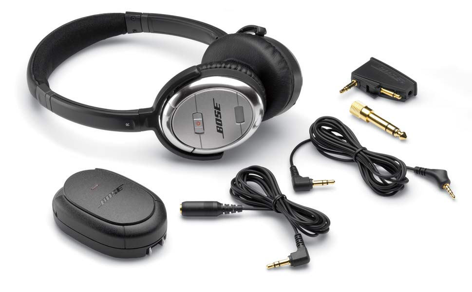 The Bose QuietComfort 3 Headphones-Noise Canceling Headphones