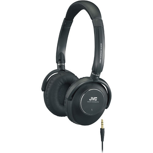 The JVC HA-NC250 Headphones-Noise Canceling Headphones