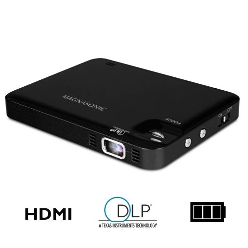Magnasonic LED Pocket Pico Video Projector, HDMI