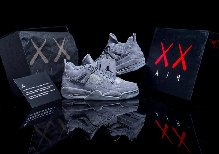 The Nike KAWS x Air Jordan IV