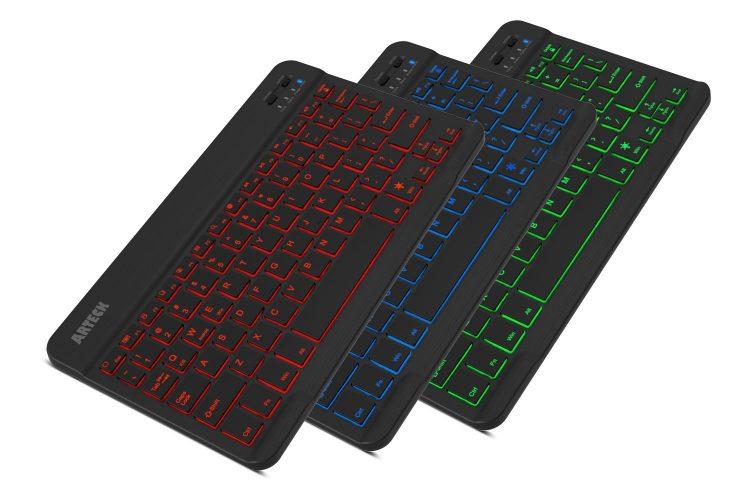 Arteck HB030B Slim Backlit Keyboards