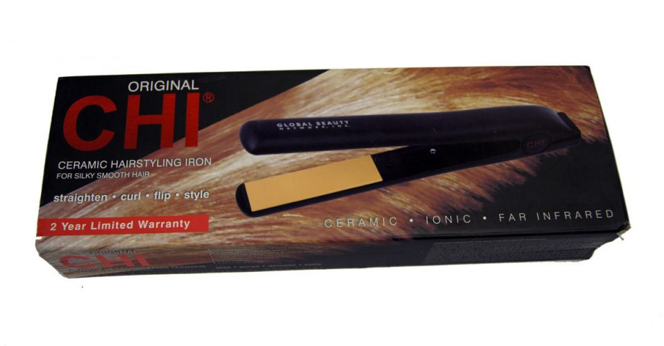 "CHI Original Pro 1"" Ceramic Ionic Tourmaline Flat Iron Hair Straighteners"