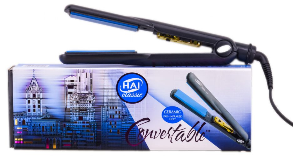 Hai Classic Convertible Ceramic Flat Iron, 1-1/4 Inch - Hair Straightener