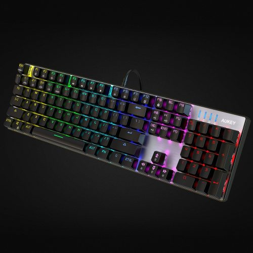 The AUKEY RGB Backlit Keyboard - Backlit Keyboards