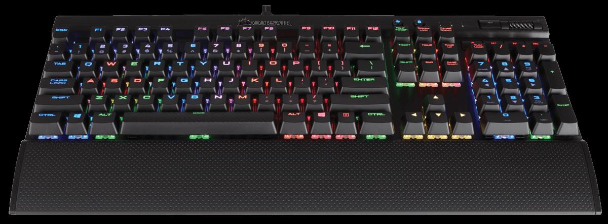 The Corsair K70 Gaming Keyboard - Backlit Keyboards
