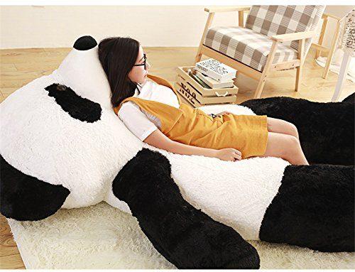 The Super-Soft Panda Bear Body Pillow - Body Pillows