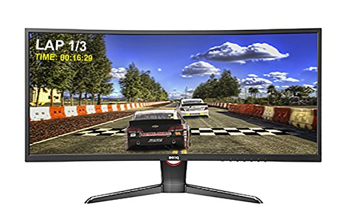 BenQ XR3501 35-inch Curved Ultra Wide Gaming Monitor - Touch Screen Monitor