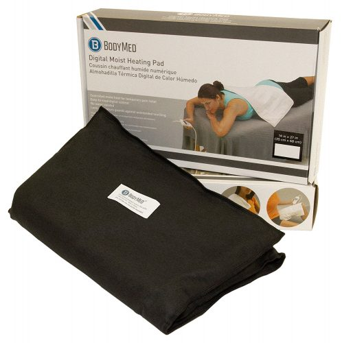 BodyMed White Digital Electric Moist Heating Pad - heating pad