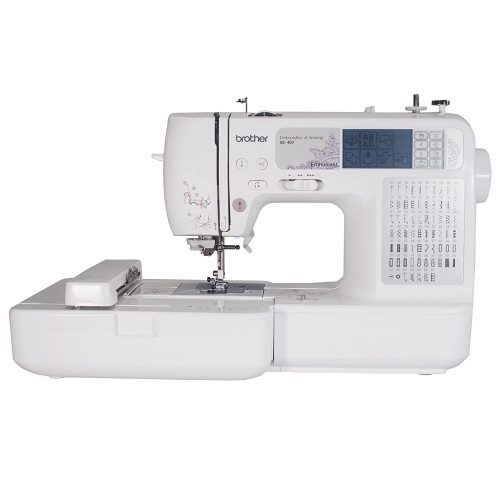 Brother SE400 Combination Computerized Sewing - Embroidery Machine