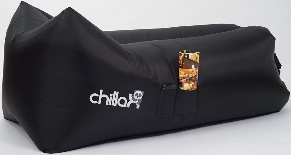 ChillaX Inflatable Lounger with Carry Bag - Inflatable Chairs
