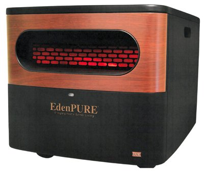 Eden PURE A5095 Gen2 Pure Infrared Heater, Black - Infrared Heater