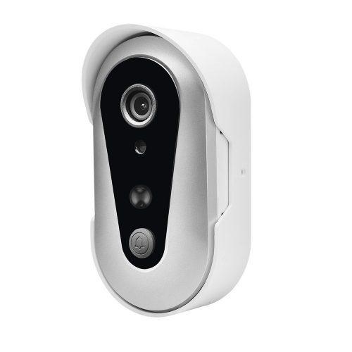 Forcovr Smart Wireless Doorbell, Battery Powered Camera Doorbell with Two-Way Audio- Wireless Doorbells