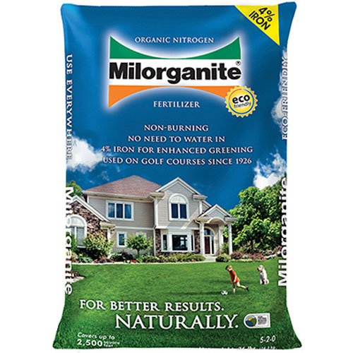 Milorganite 0636 Organic Nitrogen Fertilizer, 36-Pound