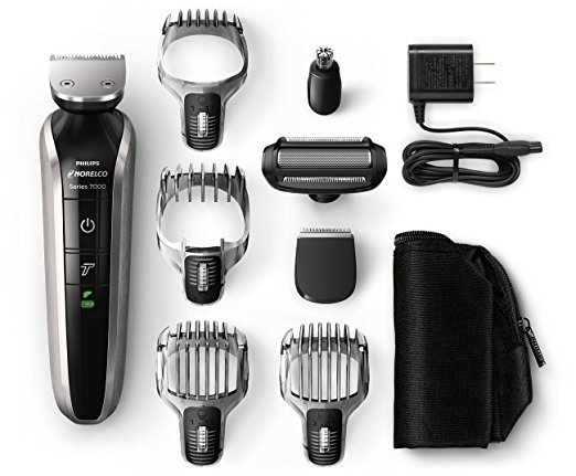 Philips Norelco Multigroom 7100 w/ eight attachments - Manscaping Trimmers