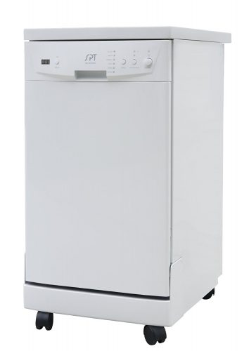 SPT SD-9241W Energy Star Portable Dishwasher, 18-Inch, White - Countertop Dishwasher